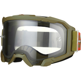 Leatt Velocity 4.5 Anti Fog Goggles forest/light grey